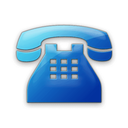 blue-business-phone-solid-icon
